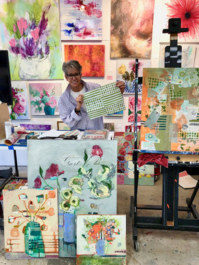 Teaching A Master Painting Class