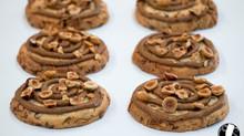 Cookies chocolat lait noisette praliné