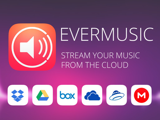 Evermusic: stream your music from the cloud and free up space on your iPhone or iPad
