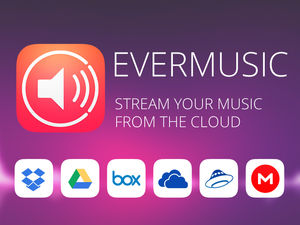Evermusic: stream your music from the cloud and free up
