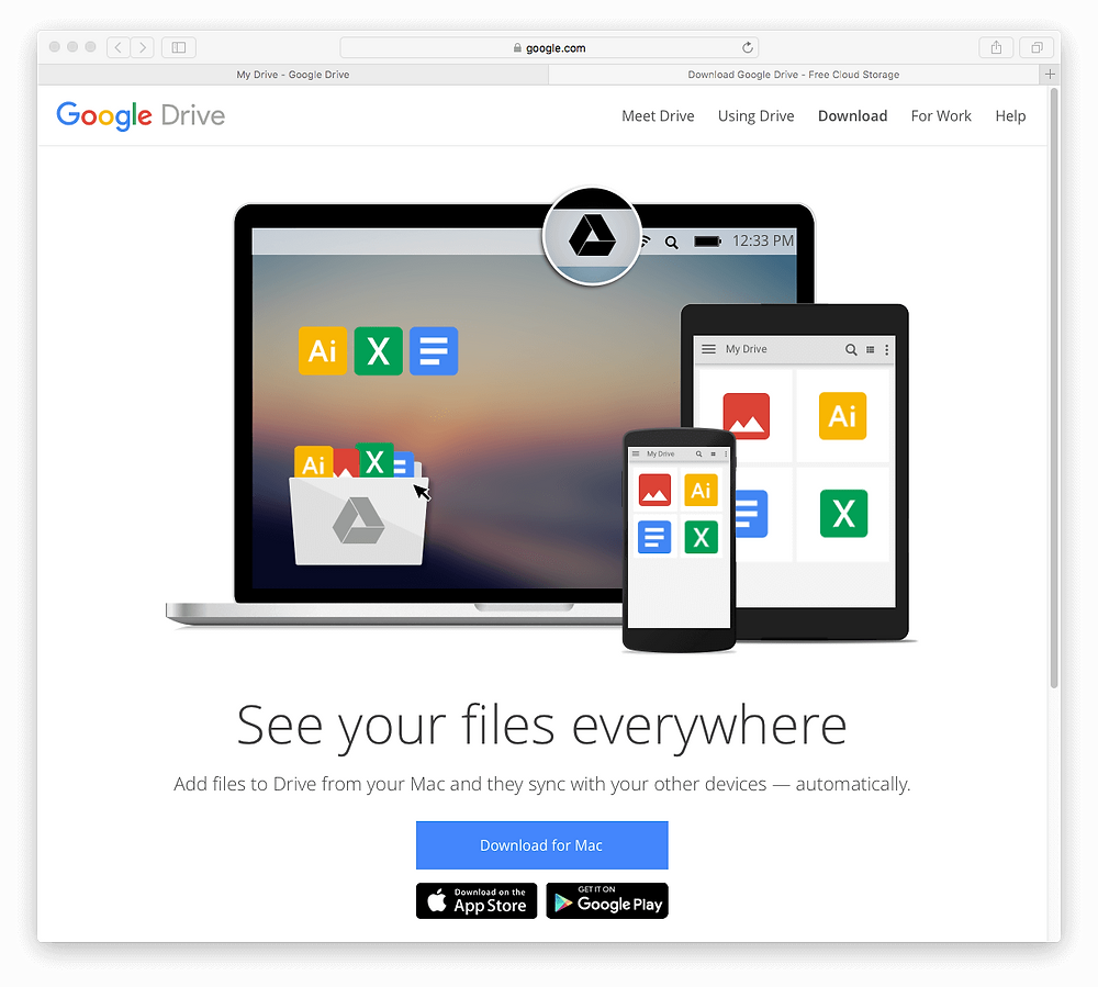 Evermusic: Download Google Drive for MAC