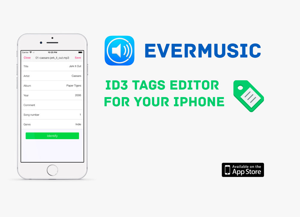 How to edit ID3 tags on iPhone