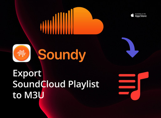 How To Export SoundCloud Playlists, Favorites, Reposts to M3U