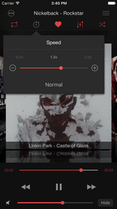 Soundy: playback speed control