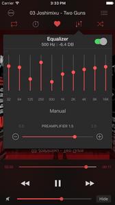 Soundy: custom equalizer preset