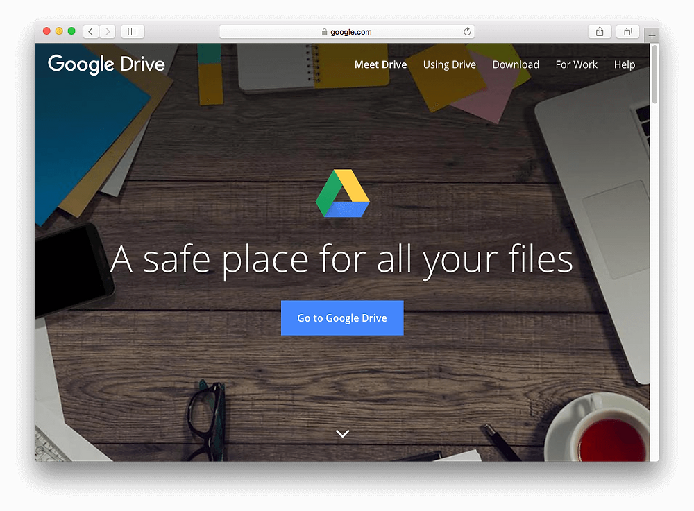 Evermusic: Go to Google Drive
