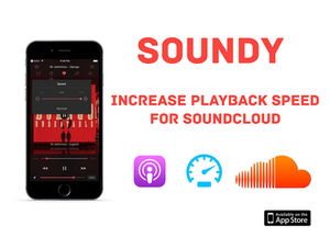 How to increase playback speed on SoundCloud
