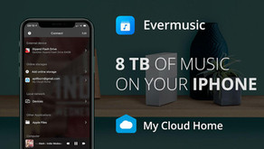 How to play music on iPhone from WD My Cloud Home