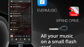 How To Play Music from USB Flash Drive on iPhone with Evermusic and iXpand by SanDisk