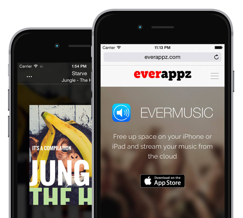 Evermusic: Install the app