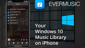 How To Enable DLNA Media Server on  Windows 10 and Play Your Music on iPhone