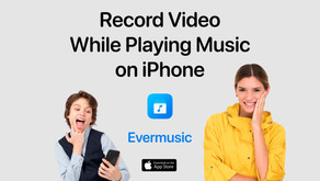 How to Record Video While Playing Music on iPhone