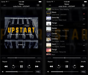 Stream your music from MAC or PC to iPhone using SMB
