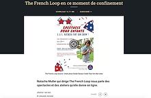 The French Loop en confinement