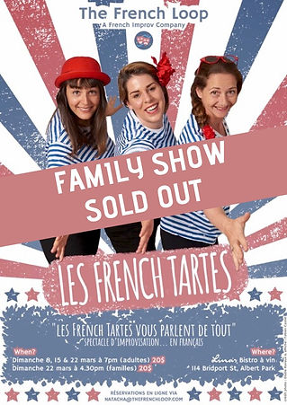 Les French Tartes Family Show Sold Out.j