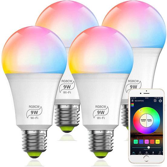 80 Watt Wifi Multi Color 4 Pack