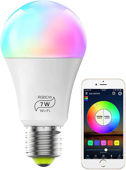 60 Watt Wifi Multi Color Bulb