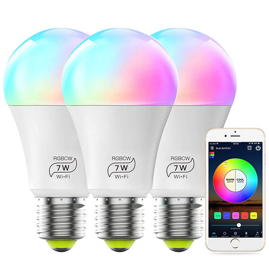 60 Watt Wifi Multi Color 3 Pack