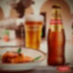 Harmonização de prato com cerveja Cusquena
