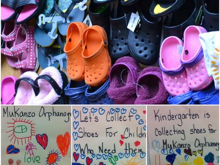 Grosvenor Shoe Fundraiser Completed!!
