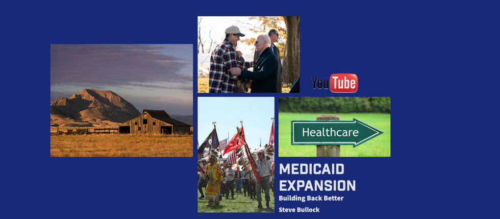 Medicaid Expansion | South Dakota | Steve Bullock | Building Back Better