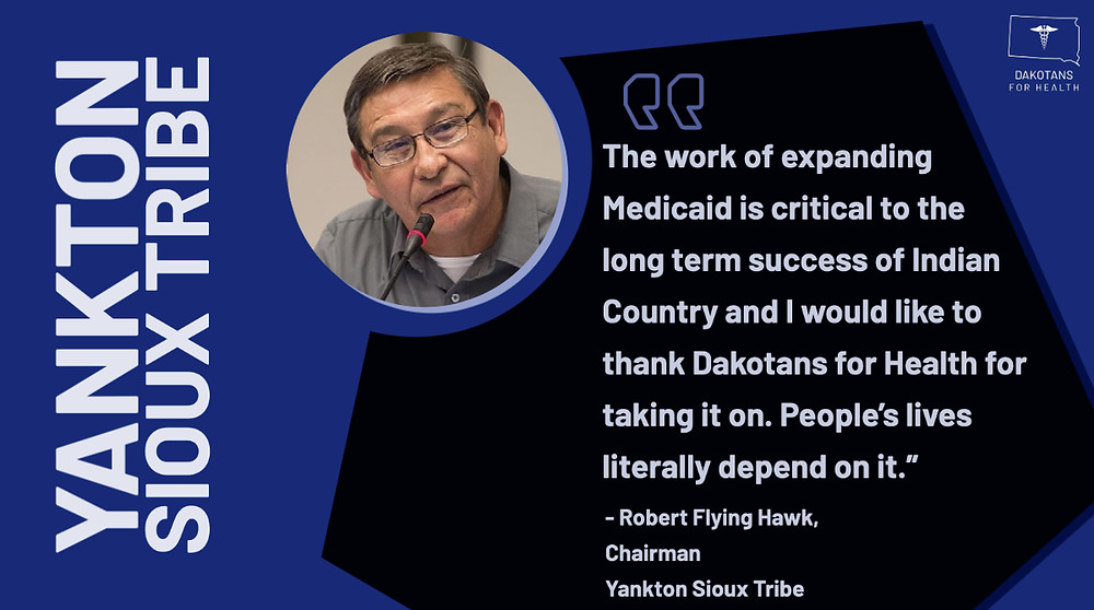 Dakotans for Health values America's diverse middle class, and the union workers who built and preserve it. SMART and the Eastern South Dakota Building Trades are proud support their effort to extend health insurance to 42,000 people who need it. It is what Build Back Better is all about.-mark rogers
