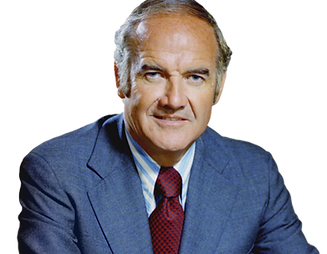 US Senator George McGovern