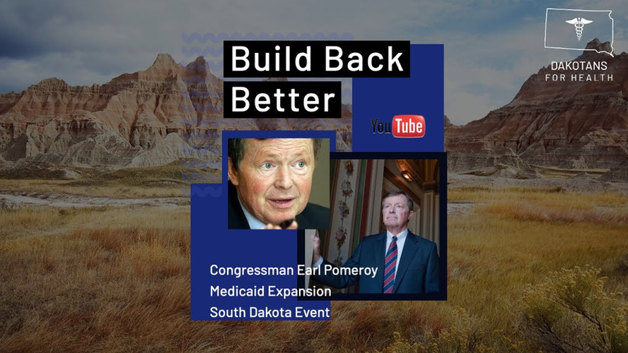 North Dakota Congressman Earl Pomeroy