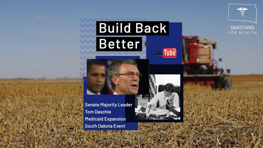 A Message from Tom Daschle