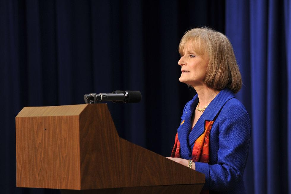 Secretary Mary Wakefield