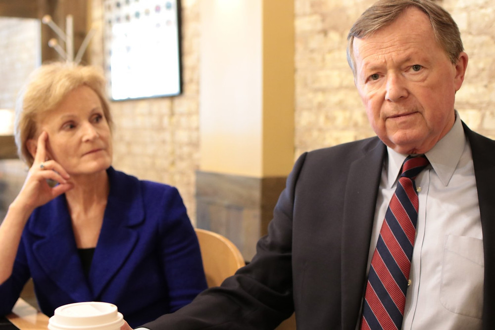 Former Deputy Secretary Mary Wakefield and Former Congressman Earl Pomeroy