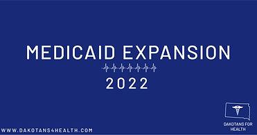 Dakotans for Health medicaid expansion banner