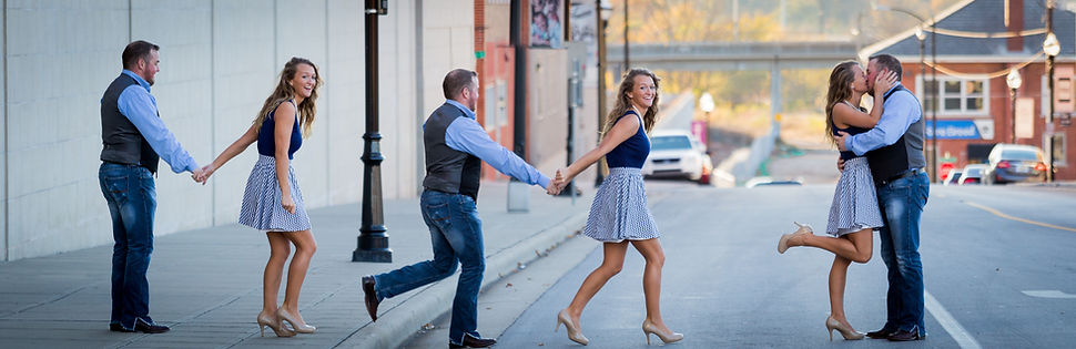 engagement session panorama wedding photos springfield mo missouri selby films