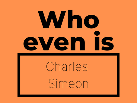 Shake it off- Charles Simeon