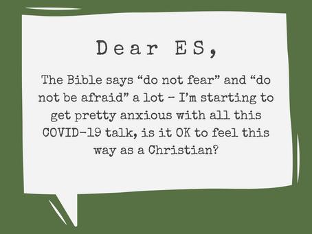 Responding to COVID-19: Anxious