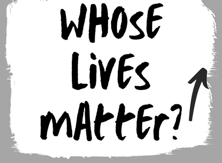 Whose Lives Matter? Part 2: How should a Christian respond?