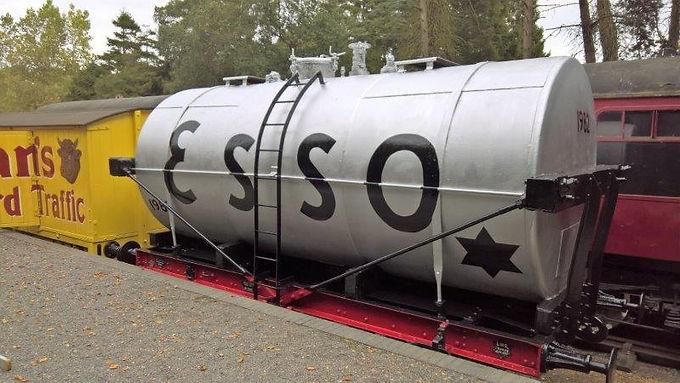 14t Tanker wagon 163058