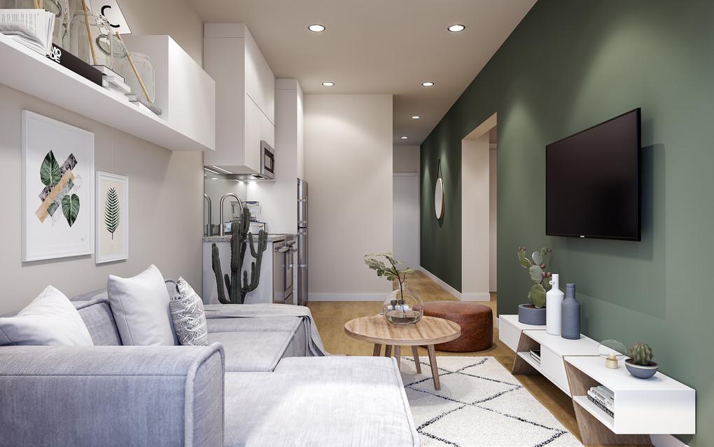 Affordable Housing Interior Design