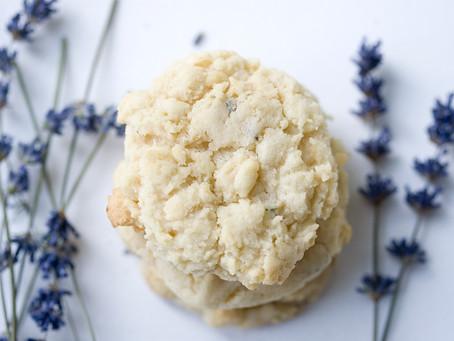 Lavender Cookies (paleo, AIP friendly)