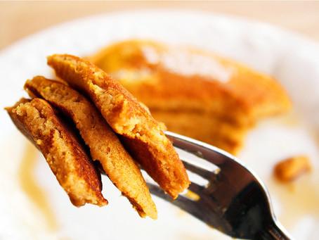 Pumpkin and Chestnut Pancakes