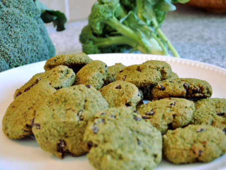St. Patrick's Day Cookies (gluten-free, refined sugar free, dairy free)