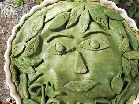 Einkorn 'Green Goddess' Pie