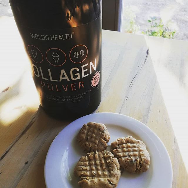 Raw Collagen Peanut Butter Cookies by FoodieinPce