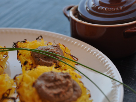 Spaghetti Squash Nests and Liver Pate (AIP Friendly)