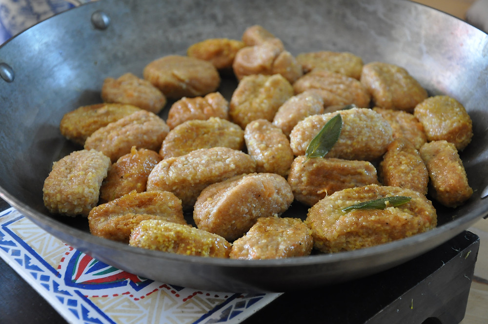 Sweet Potato Gnocchi by Foodie in Provence