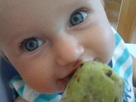 Avocado Mint Popsicles