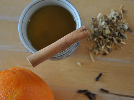 Healing Tea with Licorice Root