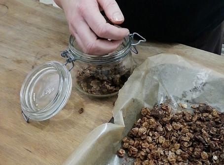Homemade Breakfast Granola