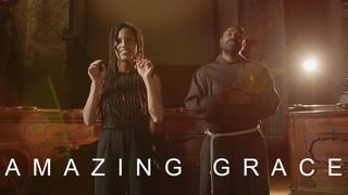 Amazing grace (Acoustic Cover) | ft. Selina | Sandesh Manuel
