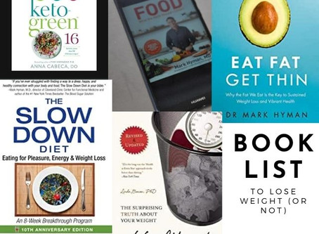 Mind Body Eating Coach's Book List